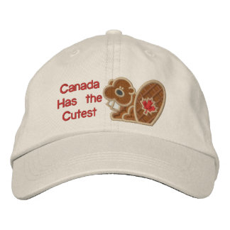 Cutest Beaver Embroidered Baseball Cap