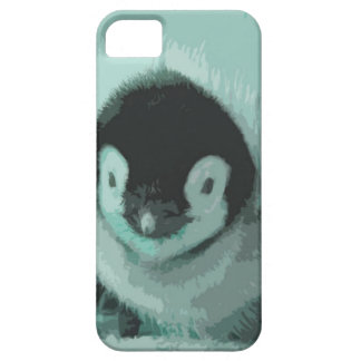 Cutout Baby Vintage Look Penguin Barely There iPhone 5 Case