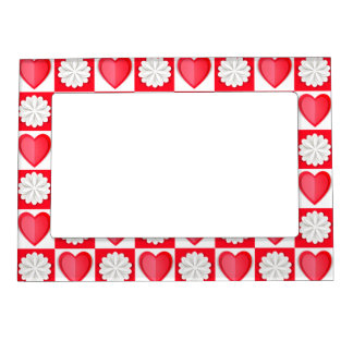 Cutout Love Magnetic Picture Frame
