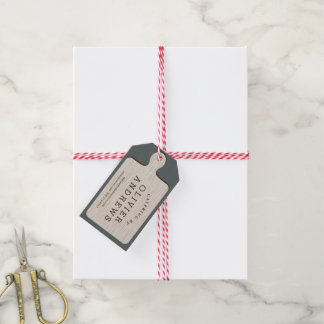Cutting Board Gift Tag with Twine