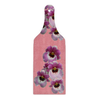 Cutting Board (Glass Paddle) - Pansy Orchid