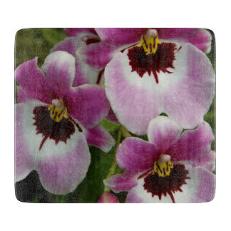 Cutting Board - Pansy Orchid