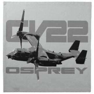 "CV-22 OSPREY Cloth Napkins (set of 4) dinner 20"""