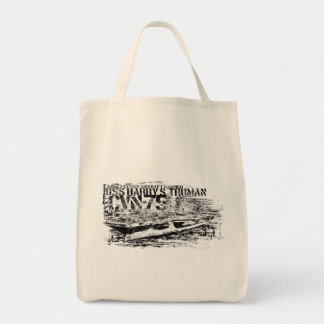 CVN-75 Harry S. Truman Grocery Tote Grocery Tote Bag