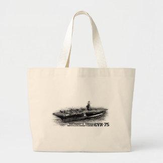 CVN-75 Harry S. Truman Jumbo Tote Jumbo Tote Bag