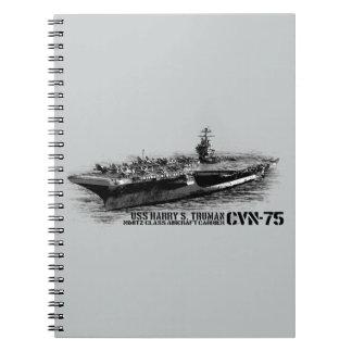CVN-75 Harry S. Truman Photo Notebook (80 Pages B