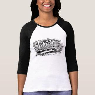 CVN-75 Harry S. Truman Women's Bella 3/4 Sleeve R T-Shirt