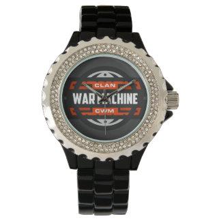 CWM Black Analogue Watch