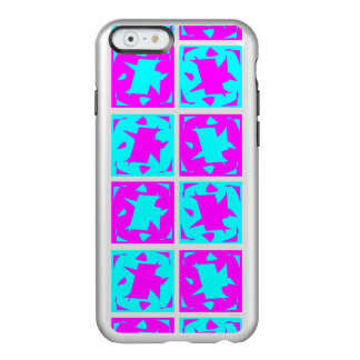 Cyan & Pink abstract Design Incipio Feather® Shine iPhone 6 Case