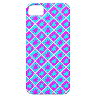 Cyan & Pink abstract Design iPhone 5 Cover