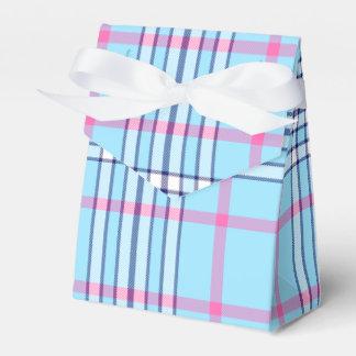 Cyan & Pink Favour Box