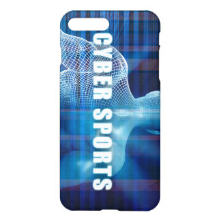 Cyber sports as a Futuristic Concept Abstract iPhone 7 Plus Case