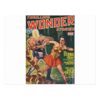 Cybor, Snake and Warrior Maiden Postcard