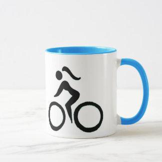 Cycle Girl Speed Mug