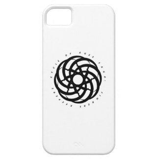 Cycle of Ages Saga: Black Logo iPhone Case