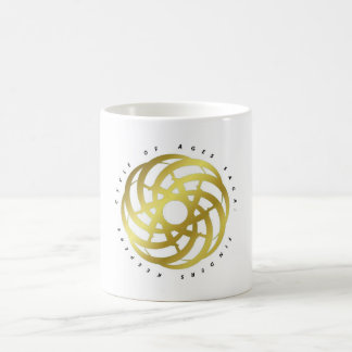Cycle of Ages Saga: Container (Gold-colored Logo) Basic White Mug