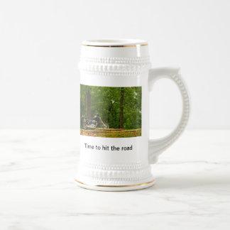 Cycle stein coffee mug