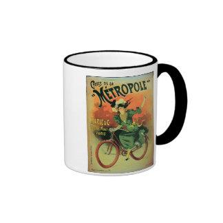 'Cycles de La Metropole', Marie & Co. (colour lith Mugs