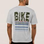 cycling . a bike stylish fashion t-shirts
