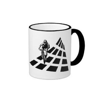 Cycling Abstract Mug