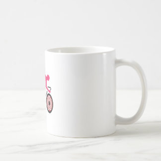 Cycling Basic White Mug