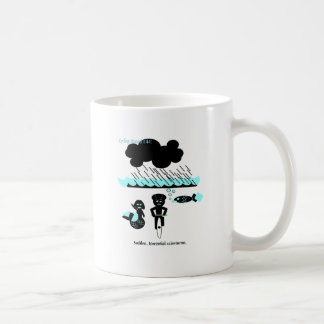 Cycling hazard: Sudden Torrential Rainstorms Coffee Mug