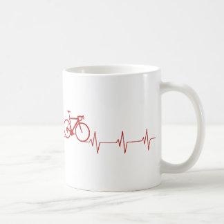 Cycling Heartbeat Coffee Mug