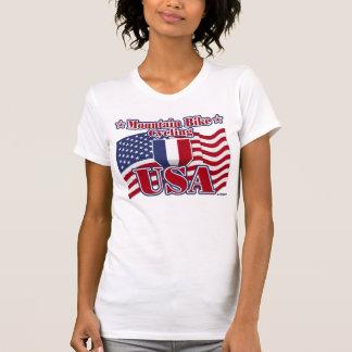 Cycling Mountain Bike USA Shirts