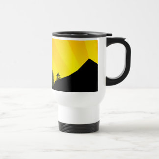 cycling : mountain rayz : stainless steel travel mug