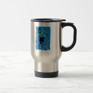Cycling Racer Coffee Mug