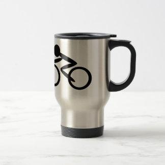 Cycling Stick Figure Mug