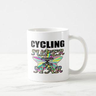Cycling Superstar Basic White Mug
