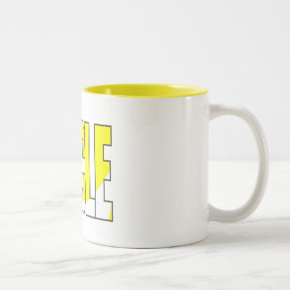 Cycling T-shirts and Gifts. Two-Tone Mug