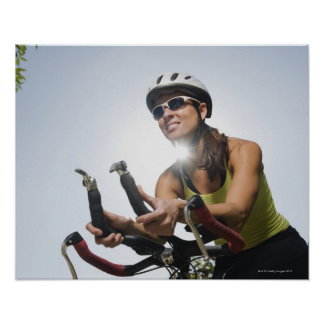 Cyclist 2 poster