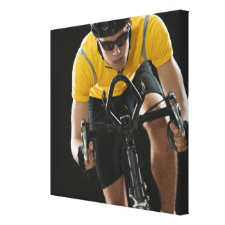 Cyclist Canvas Print