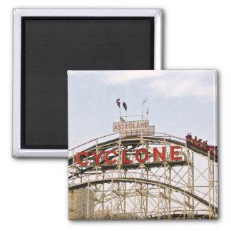 Cyclone Roller Coaster - Coney Island, NYC magnet