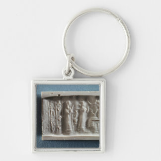 Cylinder seal depicting an evocation to the key ring