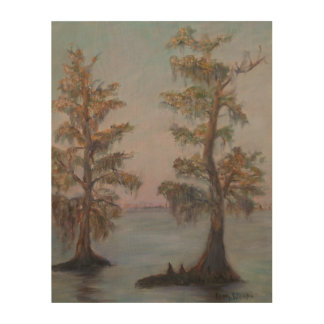 CYPRESS ON THE ST. JOHNS Wood Wall Art Wood Print