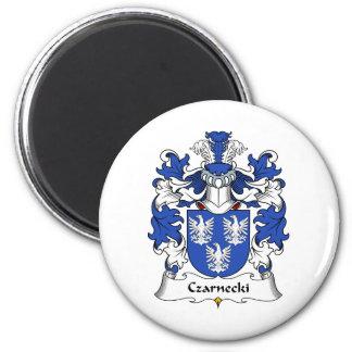 Czarnecki Family Crest 6 Cm Round Magnet