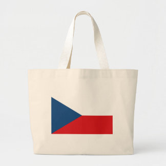 Czech Republic Flag Jumbo Tote Bag