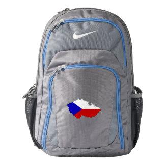 Czech Republic Flag/Map Backpack