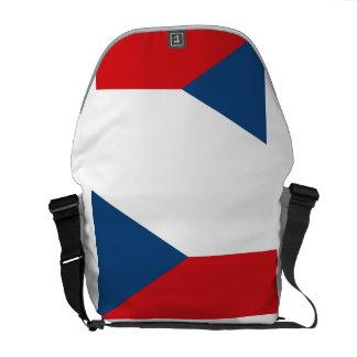Czech Republic Flag Commuter Bags