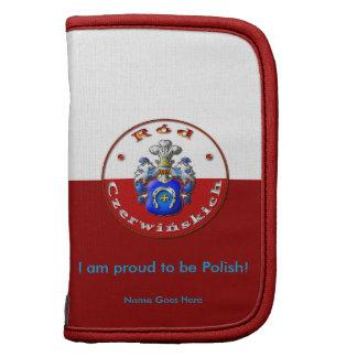 Czerwińskich Family Crest Mini Folio Planner