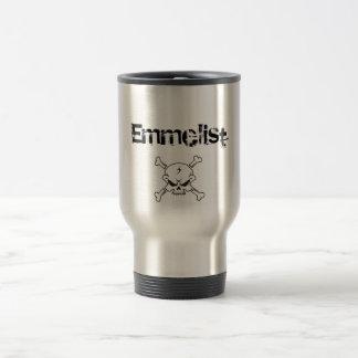 D1002 Döskalle 30x27, Emmelist Stainless Steel Travel Mug