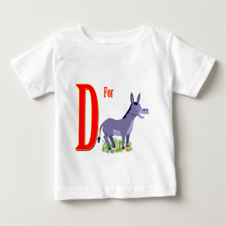 D For Donkey Baby T-Shirt