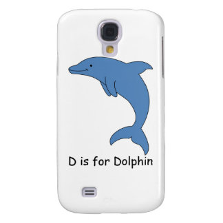 D is for Dolphin Galaxy S4 Case
