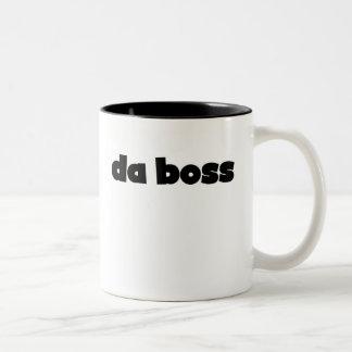 Da Boss Two-Tone Coffee Mug