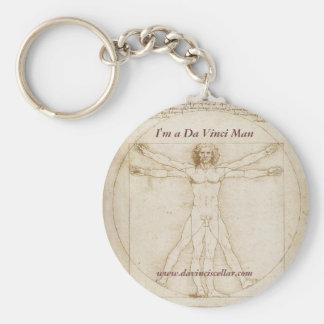Da Vinci Man Key Chain 1