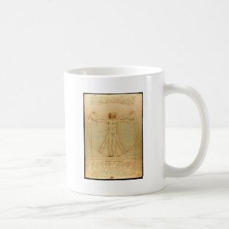 Da Vinci s Vitruvian Man Coffee Mug