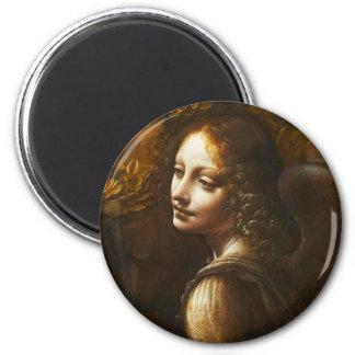 Da Vinci Virgin of the Rocks Angel Magnet